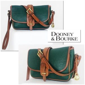 Dooney & Bourke AWL Hunter Leather Crossbody Bag
